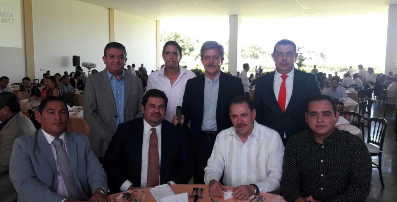 ADEPM. COPARMEX y gobierno tratando temas política, sociales y económicos