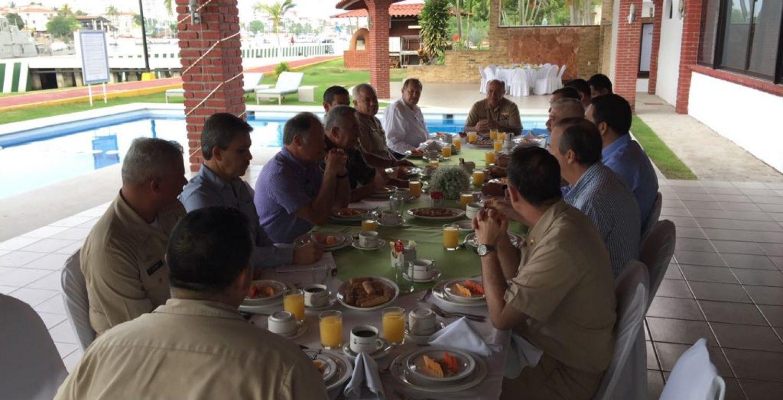 Reunión con la finalidad de acordar el procedimiento más efectivo y eficaz para salvaguardar la región.