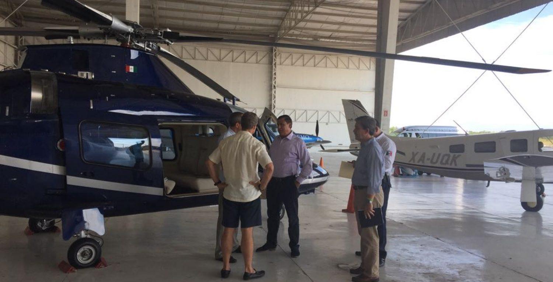 Directores Interavia y Secretaria de Seguridad Pública