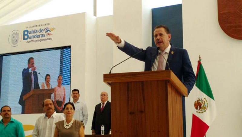 Complete address by the Dr. Jaime Alonso Cuevas Tello in his inauguration as municipal president of Bahía de Banderas