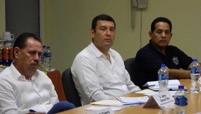 Reunión de Seguridad municipio de Bahía de Banderas