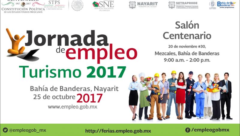 Empresarios, gobierno y trabajadores en Jornada de empleo 2017