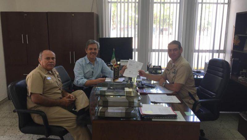 SEMAR y ADEPM gestionan la construcción de ENA Estación Naval en Punta Mita