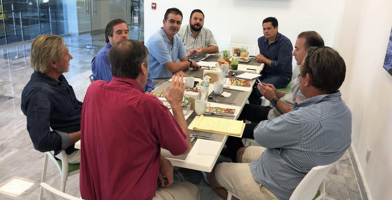 Representantes de la ADEPM evaluan los avances y gestiones de la ENA