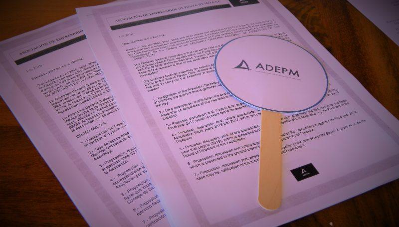 Lo más relevante de Asamblea general ordinaria ADEPM 2018