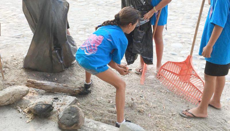 Limpieza de Punta de Mita