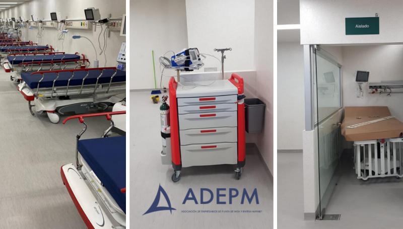 Hospital para tratar COVID-19 en Bahía de Banderas, Nayarit