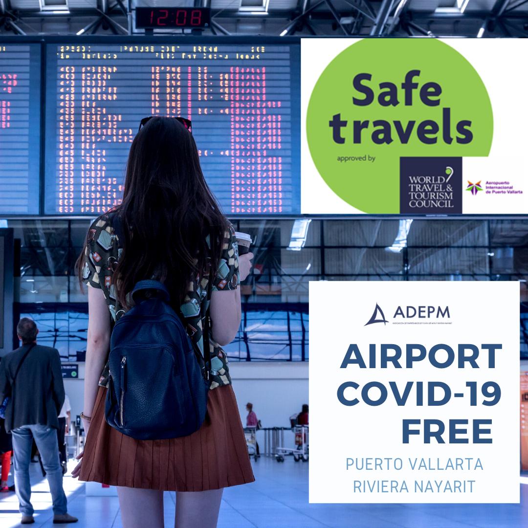 Aeropuertos libres de coronavirus