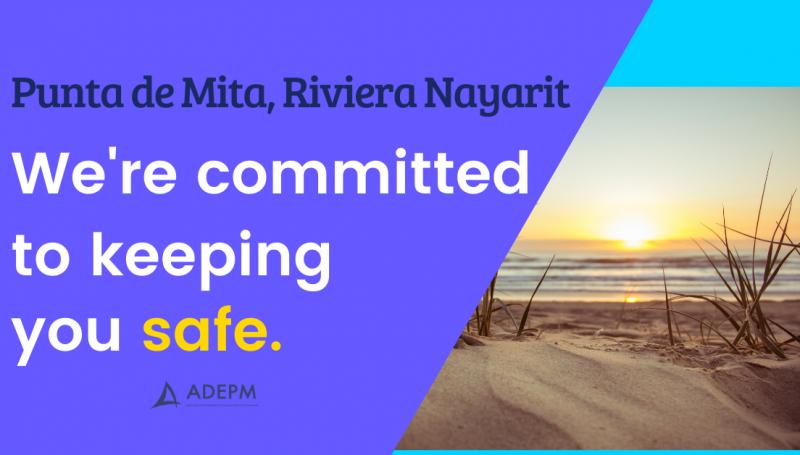 Playas abiertas y seguras en México